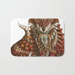 Red Fox (Color Version) Bath Mat