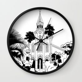 Nagasaki - Oura Church Wall Clock