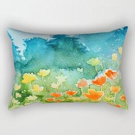 Spring scenery #1 Rectangular Pillow