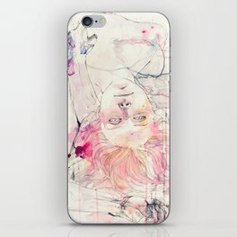 in bloom, each growing petal is an internal wound iPhone Skin