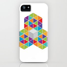 Abstract Triangle 1 iPhone Case