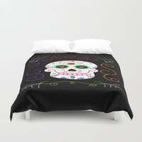 selena gomez Duvet Covers featuring Gomez by Designs By Misty Blue (Misty Lemons)
