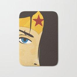 Wonder, Hero DC, Woman Bath Mat