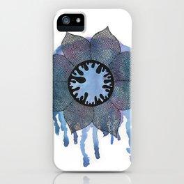 Winter Bloom iPhone Case