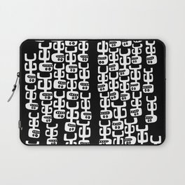 Divided They Fall, Together They Land Laptop Sleeve