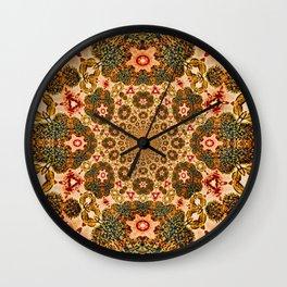 Michael Robinson Mandala Wall Clock