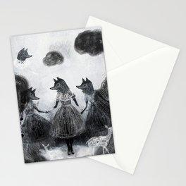 revenge of the girls Stationery Cards