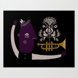 Bugle Boy Art Print