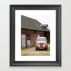 Camionette Framed Art Print
