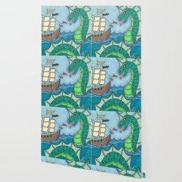 Sea Serpent Wallpaper
