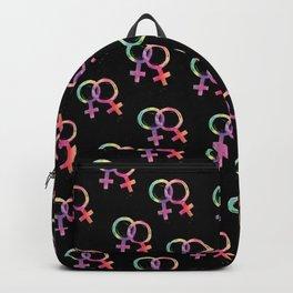 Love is Love Femme Rainbow Backpack