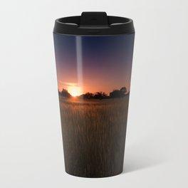 African Kalahari Sunset Travel Mug