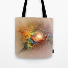 Fractal art beauty light Tote Bag
