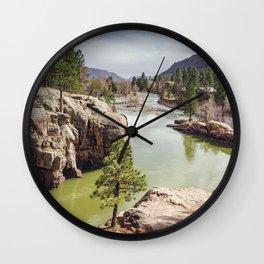 Animas River Colorado Wall Clock