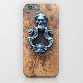 Antique Door Decorative Knocker iPhone Case