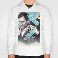 tom hiddleston Hoodies featuring Tom Hiddleston by Yan Ramirez