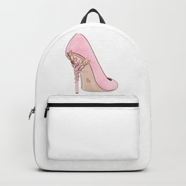 Pink Shoe #2 Backpack