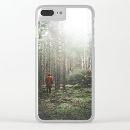 Finding Light Clear iPhone Case