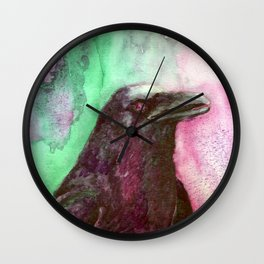 Complementary Raven 2 Wall Clock