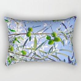 Olives in the sunshine Rectangular Pillow