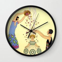 George Barbier - Printemps (art deco print) Wall Clock