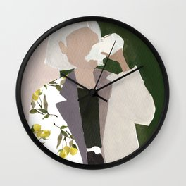 Lemon Jacket Wall Clock