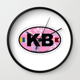 Kure Beach - North Carolina. Wall Clock