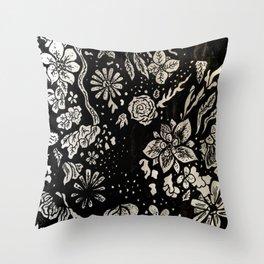 Flower Fields Throw Pillow