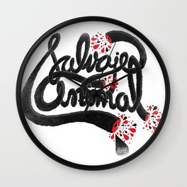 SALVAJEANIMAL headless III Wall Clock
