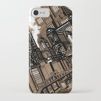 cityscape iPhone & iPod Cases featuring Cityscape by David Miley