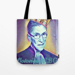 Vintage Notorious RBG SUPREMES Ruth Bader Ginsburg Tote Bag