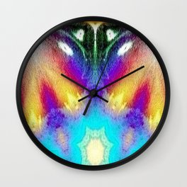 Leader of the Insectasoids Wall Clock