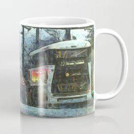 Edinburgh Night Bus Coffee Mug