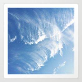 Sky Waves Art Print