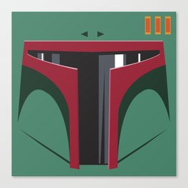 Boba Fett - Starwars Canvas Print