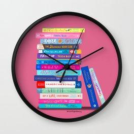 Romance Books Wall Clock