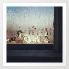 The Window Sill Art Print