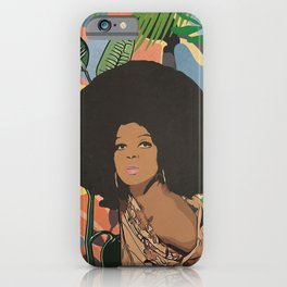 Afro woman  iPhone Case