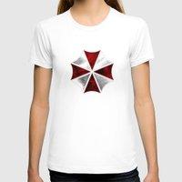 resident evil T-shirts featuring Resident Evil Umbrella Corporation by Liquidsugar