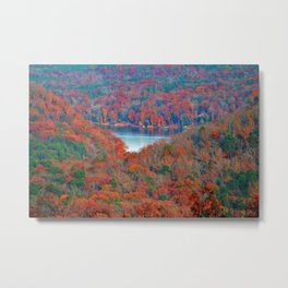 Morrow Mountain Overlook Metal Print
