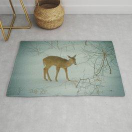 Deer Winter Rug