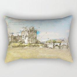 Eilean Donan Castle, Scotland Rectangular Pillow