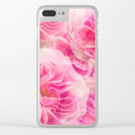 Roses In Pink Tones #decor #society6 #buyart Clear iPhone Case