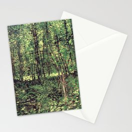 Trees and Undergrowth Stationery Cards