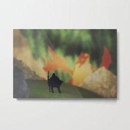 Dragon Mountain Metal Print