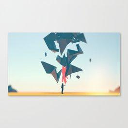 Shatter Canvas Print