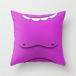 Faces V2 Throw Pillow
