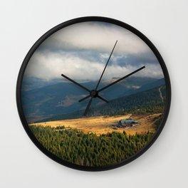 Karkonosze pano Wall Clock