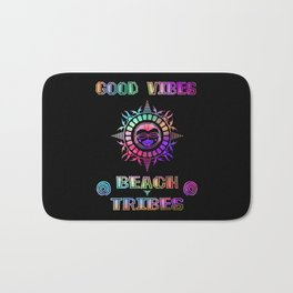 Good Vibes-Beach Tribes Bath Mat