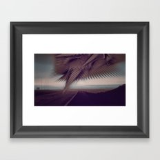 The Road to Somewhere Framed Art Print